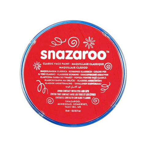 Snazaroo - Classic 18ml - Bright Red