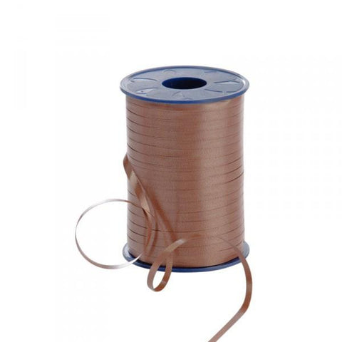 Curling Ribbon - Brown 5mm x 500m