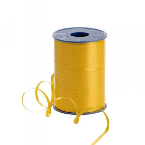 Curling Ribbon - Yellow 5mm x 500m