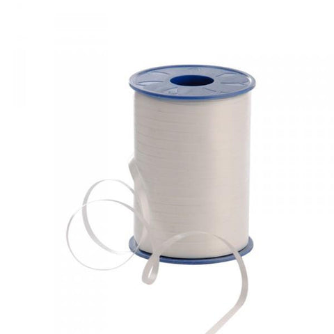 Curling Ribbon - White 5mm x 500m