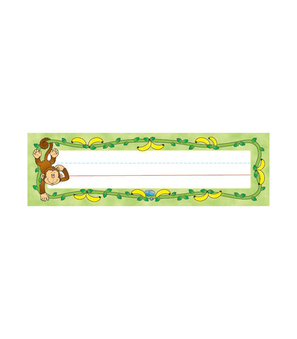 Desk Top Name Plates - Monkey Pack of 36