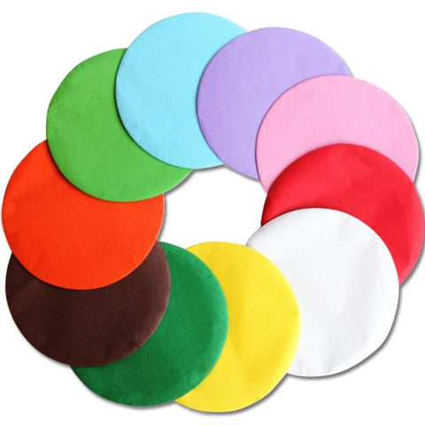 Tissue Paper Circles -  Assorted Colours 12.5cm Pack of 480