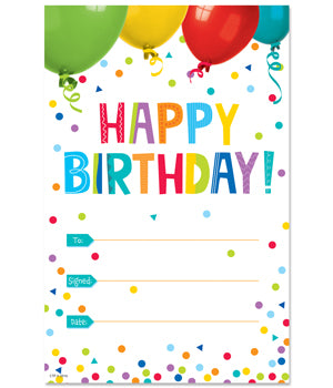 Happy Birthday! Awards - Pack of 30