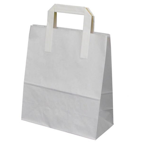 Paper Bags - White Pack 30
