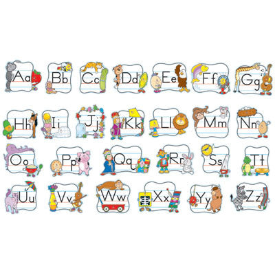 Alphabet: Traditional Manuscript Bulletin Board Set