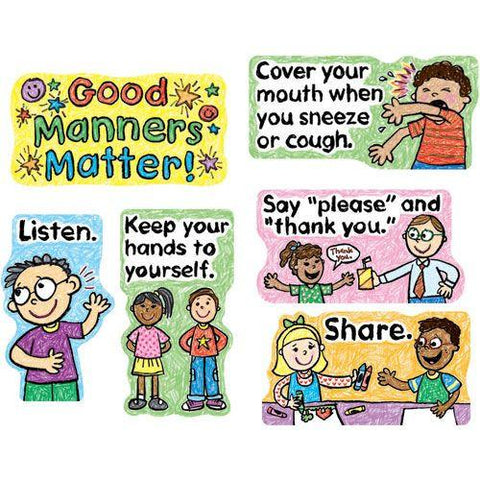 Good Manners Matter Bulletin Board Set