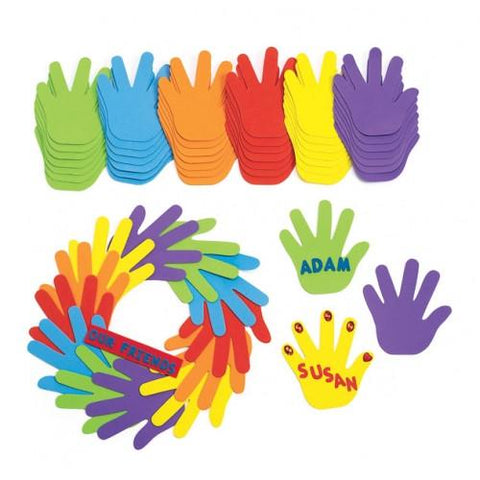 Happy Hands Foam Shapes - Set of 150