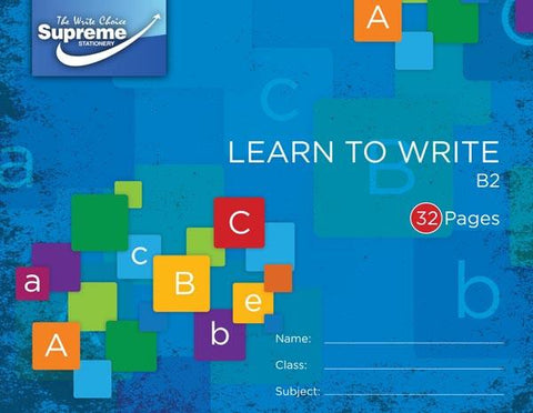 Supreme B2 Learn to Write Copy Book 40 Page