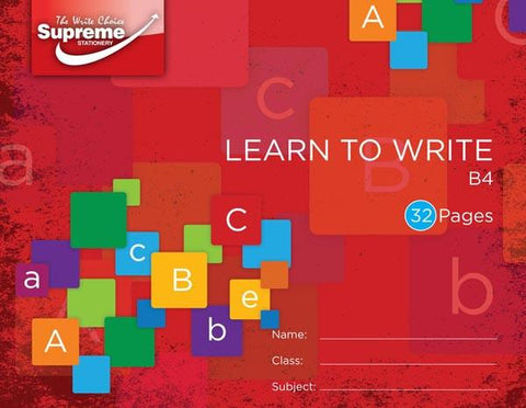 Supreme B4 Learn To Write Copy Book 32 Page
