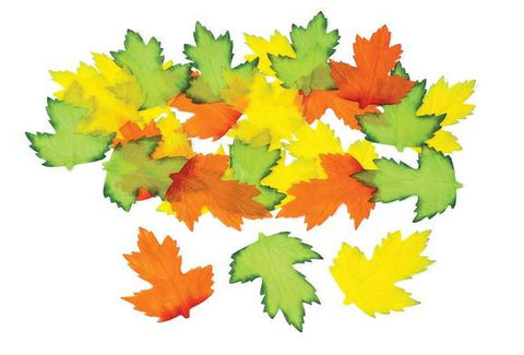 Fabric Autumn Leaves - 200 Pieces