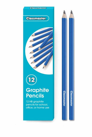 Classmaster Classroom Graphite HB Pencils (Pack of 12)