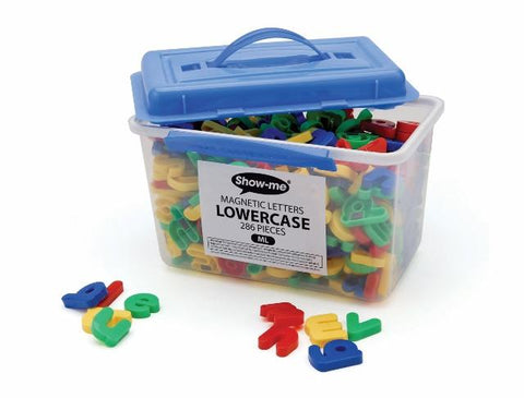 Show-me Magnetic Letters - Lowercase Tub of 286 Pieces