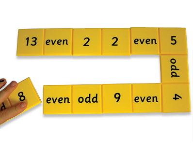 Odd and Even Dominoes - Pack of 28