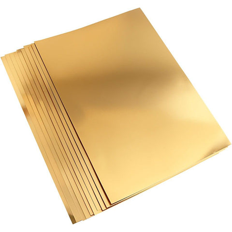 A2 Metallic Foil Gold Card 420 x 600 mm 280g - 10 sheets