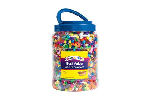 Best Value Bead Bucket - 6000 Pieces