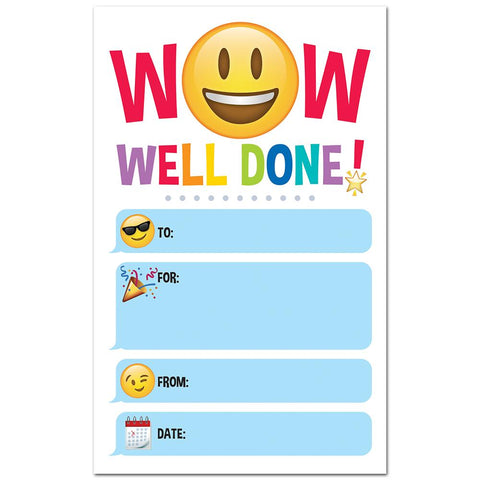 Emoji Fun Well Done! Award