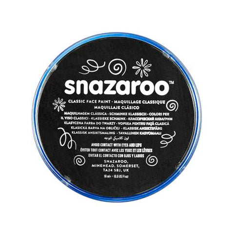 Snazaroo - Classic 18ml - Pot Black