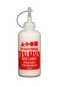 Red Label Washable PVA Medium - 180ml