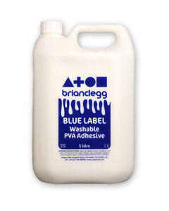 Washable PVA Glue - 5 litre