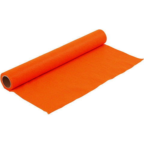 Craft Felt Roll - Orange 1 Metre 180-200 g/m2