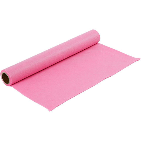Craft Felt Roll - Pink 1 Metre 180-200 g/m2
