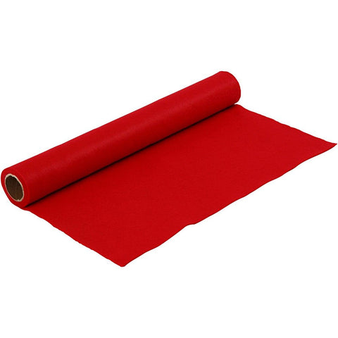 Craft Felt Roll - Red 1 Metre 180-200 g/m2