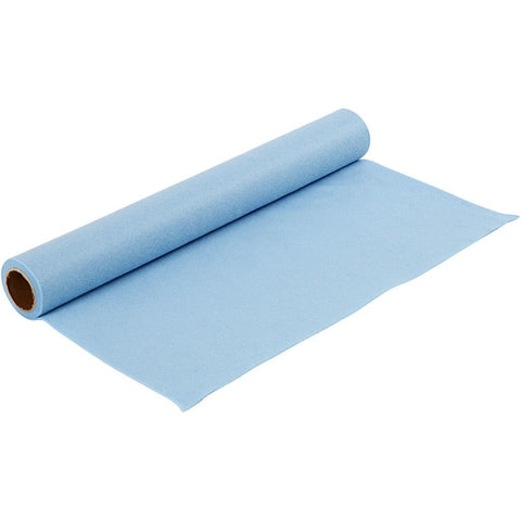 Craft Felt Roll - Light Blue 1 Metre 180-200 g/m2