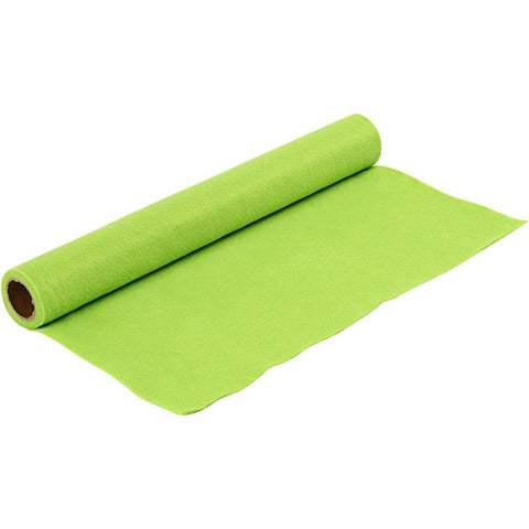Craft Felt Roll - Light Green 1 Metre 180-200 g/m2