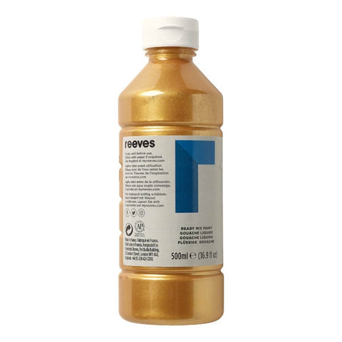 Reeves - Redimix 500ml - Metallic Gold