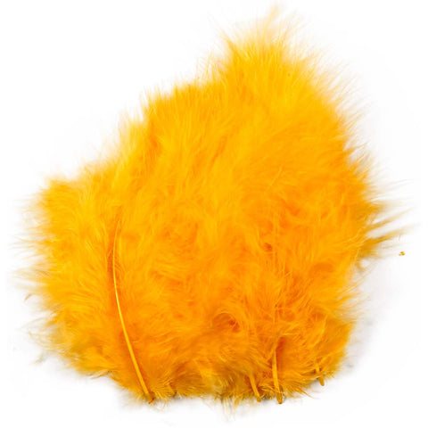 Yellow Collage Feathers (5-12cm) - 15 Pieces