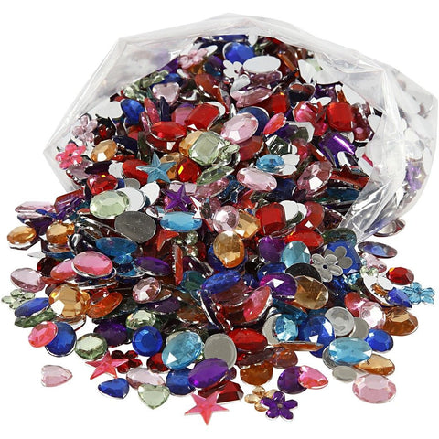 Rhinestones Size 10-15 mm 1600 Mixed Pack
