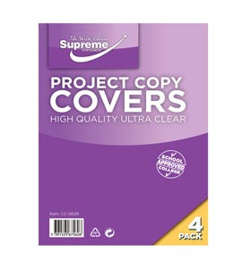 Copy Covers - Project Size Pack of 4