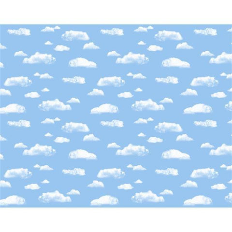 Fadeless Paper Roll Clouds 121.9cm x 3.6m