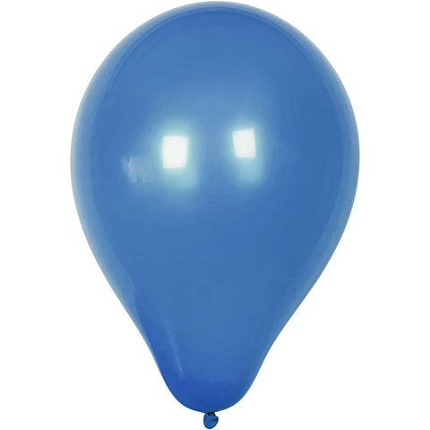 Balloons - Round Dark Blue 23cm Pack of 10