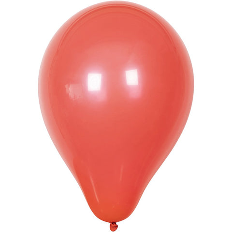 Balloons - Round Red 23cm Pack of 10