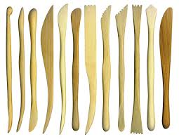 Wooden Modelling Tools Set of 10