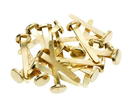 Paper Fasteners 25mm - Tub of 200 Approx.