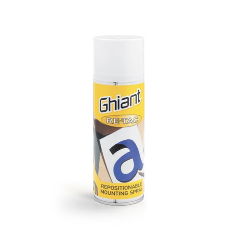 Ghiant - Repositional Spray - 400ml