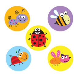 Bugs - Hot Spots Stickers - 880 Pack