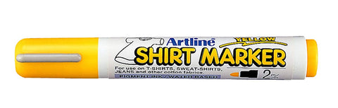 Artline T-Shirt Marker Yellow