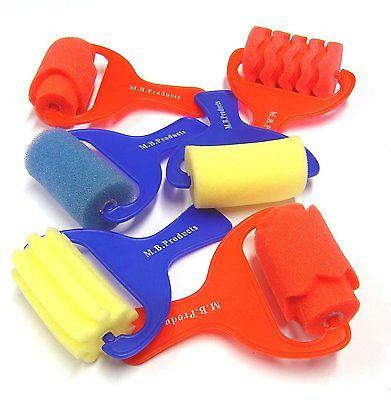 Assorted Foam Rollers 7cm - Pack of 6