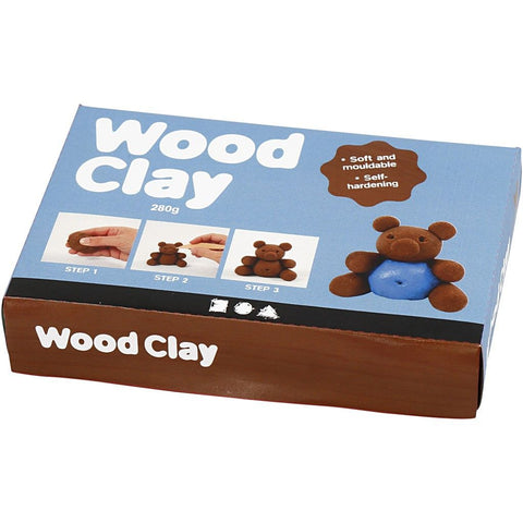 Wood Clay - Brown - 280g
