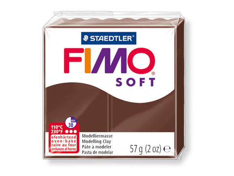 Fimo Soft Polymer Clay -  Chocolate 56g