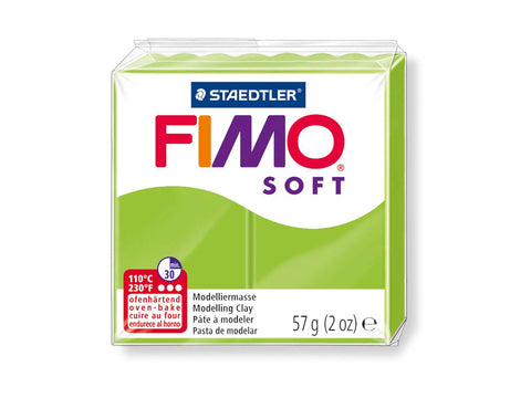 Fimo Soft Polymer Clay -  Apple Green 56g