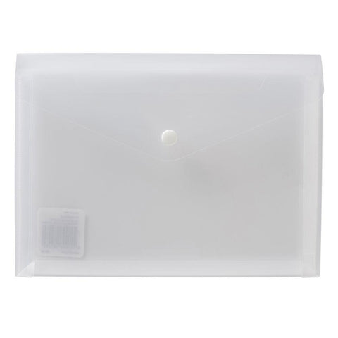 Button Wallet - A5 Clear
