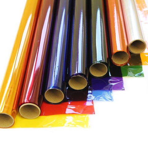 Cellophane Rolls 50cm Assorted Colours - Pack of 7