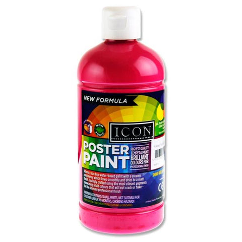 Magenta - Icon Art Poster Paint 500ml