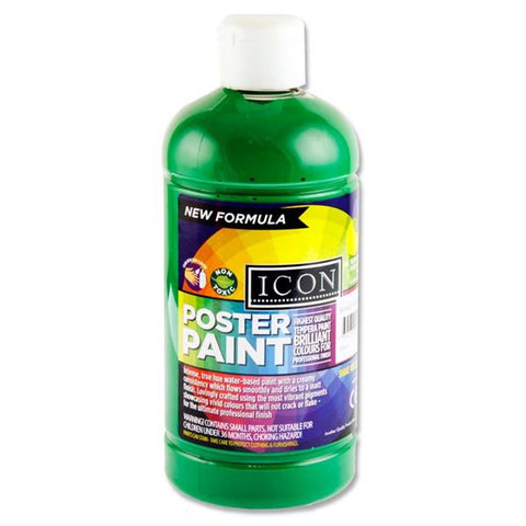 Green (Emerald) - Icon Art Poster Paint 500ml