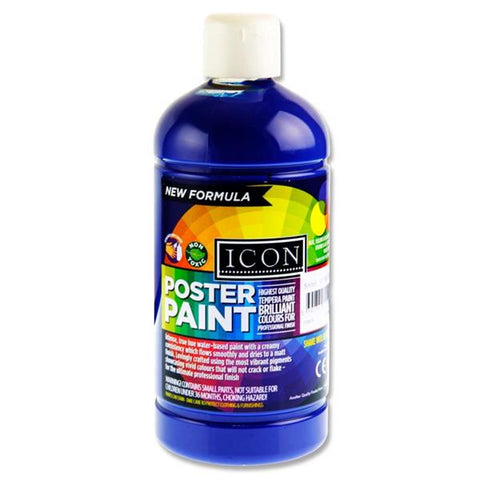 Blue (Ultramarine) - Icon Art Poster Paint 500ml