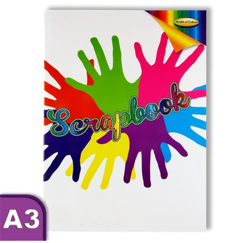 World of Colour Scrapbook  A3 60 Pages